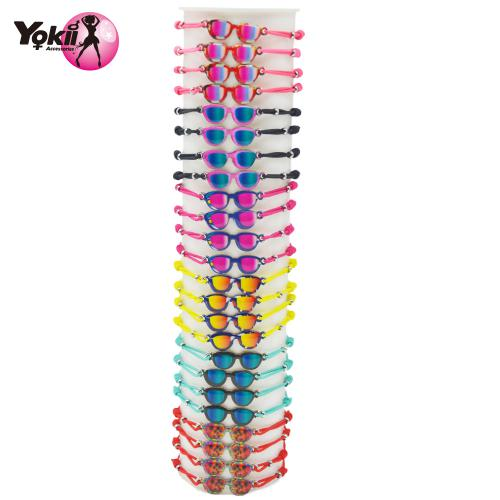 Hand made Alloy Colorful glasses Bracelets For Women Kids Bracelet 30pcs